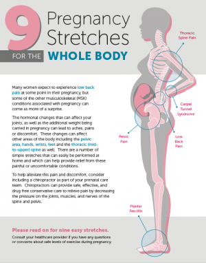 Nine Pregnancy Stretches for the Whole Body