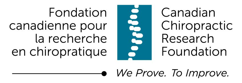 Canadian Chiropractic Research Foundation (C-C-R-F) logo