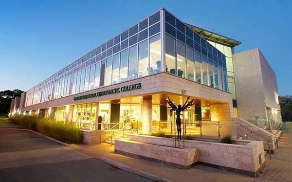 Exterior shot of Canadian Memorial Chiropractic College