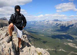 Dr. Welsh on Cadmore hike