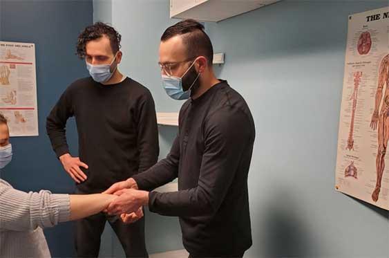 Dr. Paolo De Ciantis shows how teamwork helps our patients