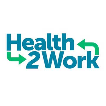 Health2Work logo