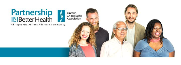 Several Partnership4BetterHealth people working to shape chiropractic care in Ontario