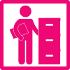 Information research icon