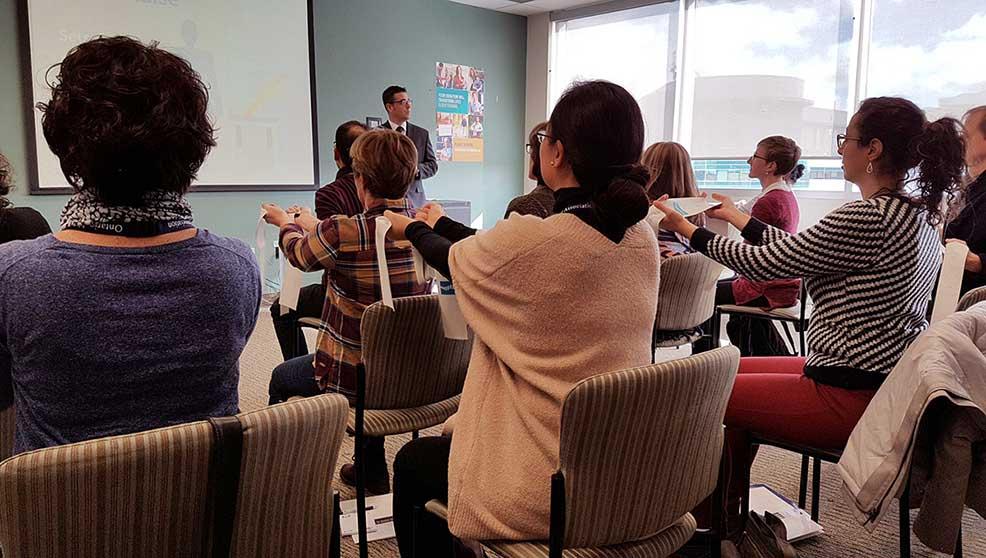 Ontario Chiropractic Association Training Session