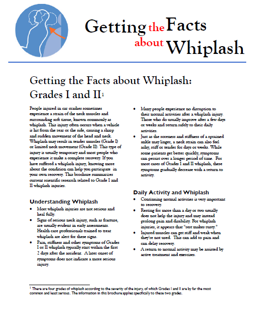 getting the facts about whiplash preview image