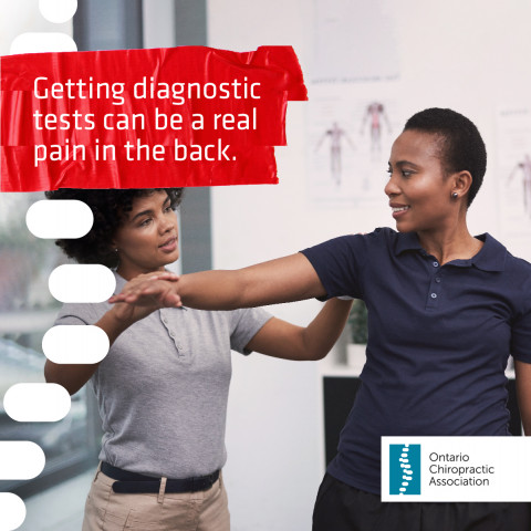 Ontario Chiropractic Association Red Tape Relief Campaign Poster